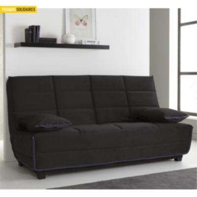 banquette clic clac violaine matelas dunlopillo. Black Bedroom Furniture Sets. Home Design Ideas