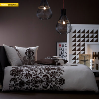 housse de couette voyage essix home. Black Bedroom Furniture Sets. Home Design Ideas