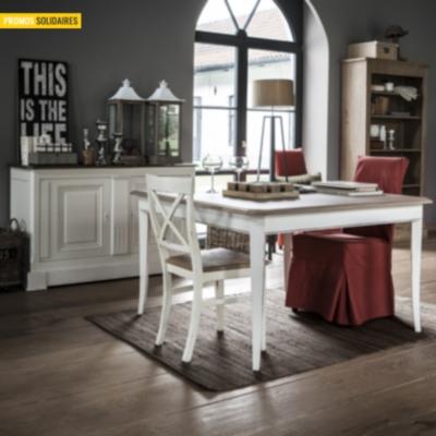 buffet p rigord 2 portes 140 cm. Black Bedroom Furniture Sets. Home Design Ideas