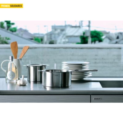 3 casseroles CRISTEL Strate 16 à 20 cm avec poignée inox
