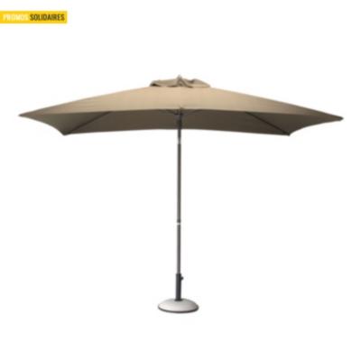 parasol inclinable en aluminium 3 x 2 pro loisirs. Black Bedroom Furniture Sets. Home Design Ideas