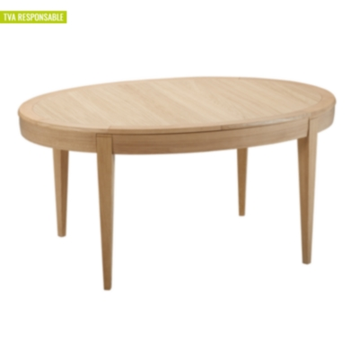 Table ovale allonges donna for Table qui s allonge