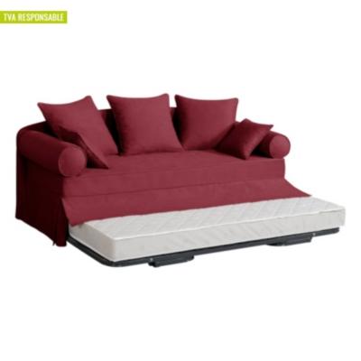 canap lit gigogne tissu hermitage. Black Bedroom Furniture Sets. Home Design Ideas