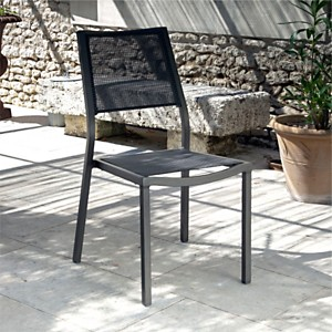 Lot de 2 chaises OCEO Florence  Brun/Taupe