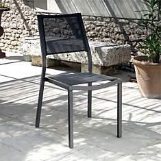 Lot de 2 chaises OCEO Florence  Brun/Tau