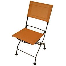 Lot 2 chaises pliantes Textilène...