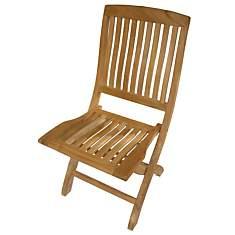 Lot de 2 chaises pliantes Normandie,  te