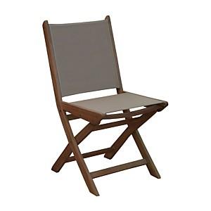 Lot de 2 chaises pliantes Theria en  en