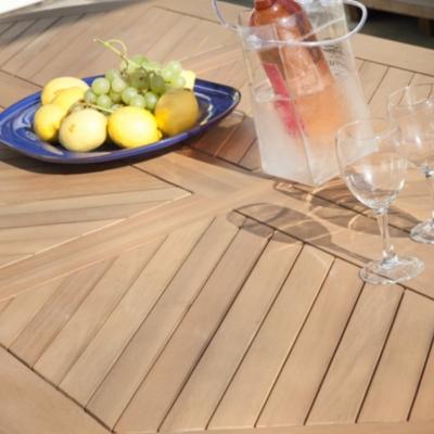 Table Durban 160/220x100 cm,  eucalyptus FSC