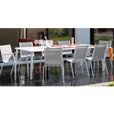 Ensemble table Azuro avec 4 chaises  et