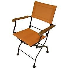 Lot 2 fauteuils pliants Textilène  color