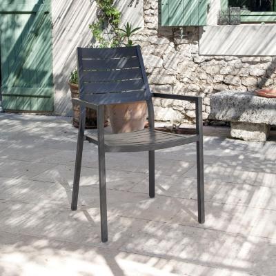 Lot de 2 fauteuils aluminium OCEO  Latino