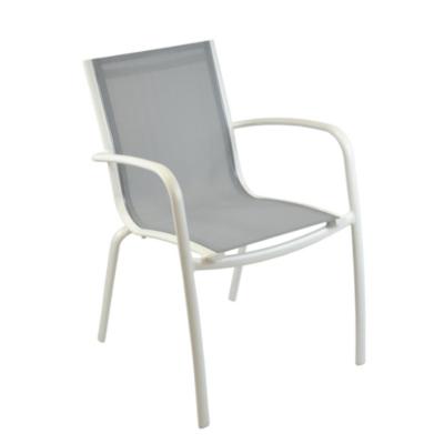 Lot de 2 fauteuils empilables Linéa