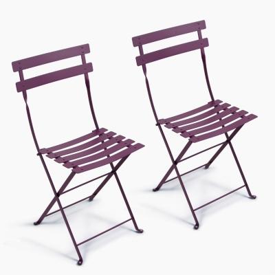 Lot de 2 Chaises pliantes FERMOB Bistro