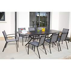 Ensemble table Malaga 180/240 et 6  6 ch...