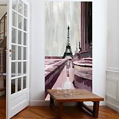 Grand panneau déco Trocadéro  MADEMOISEL...
