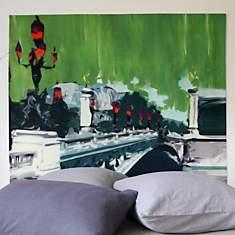 Tête de lit Pont Alexandre  MADEMOISELLE...