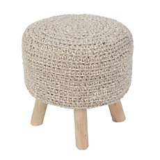 Pouf Montana THE RUG REPUBLIC, i...