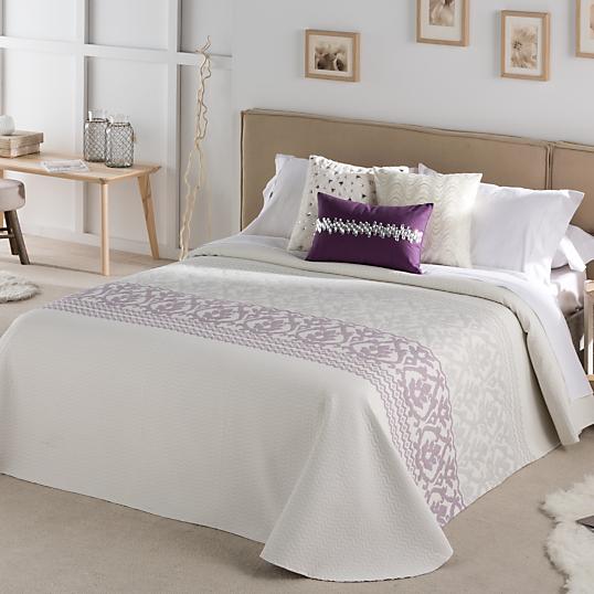 couvre lit r versible flair. Black Bedroom Furniture Sets. Home Design Ideas