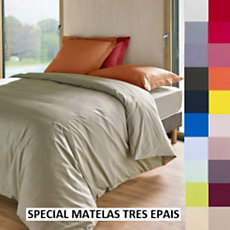 Drap housse percale Royal ESSIX ...