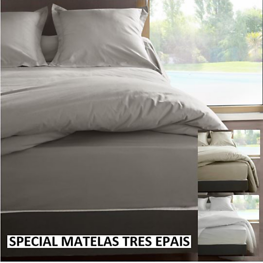 drap housse percale m line 2 labelissim matelas tr s pais. Black Bedroom Furniture Sets. Home Design Ideas