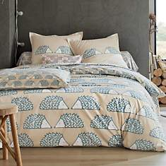 Parure de lit percale Spike SCION LIVING