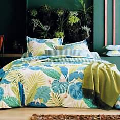 Parure de lit percale Bali BLANC DES  VO...