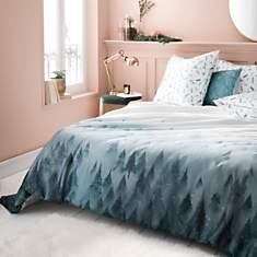 Parure de lit satin Songe d'Hiver ESSIX