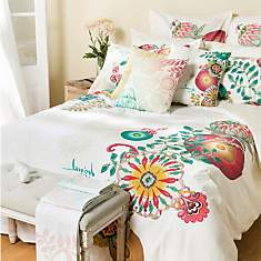 Taie d'oreiller percale Essential Living...