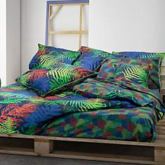 Drap housse satin Forest GARNIER  THIEBA...