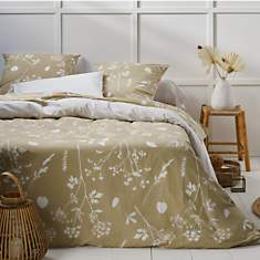Drap percale Helen beige CAMIF EDITION