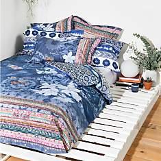 Parure de lit percale Exotic Jeans  DESI...