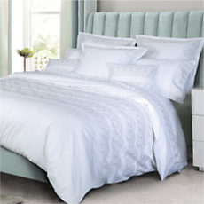 Housse de couette percale Wooly ...