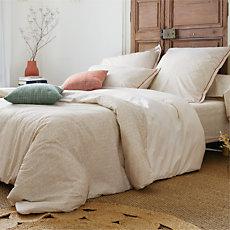 Parure de lit coton brut Zoé