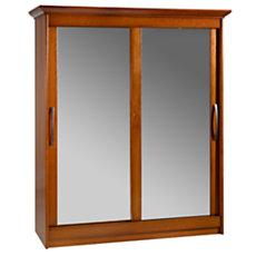 Armoire 2 portes miroir coulissa...
