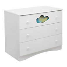 Commode 3 tiroirs Sybelle