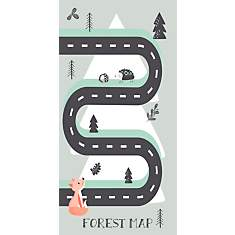 Tapis Forest Map