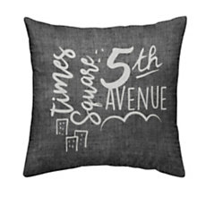Coussin chambray 5TH Avenue
