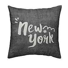 Coussin chambray New York
