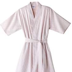 Peignoir Kimono satin Mythique BLANC  DE...
