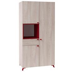 Armoire 3 portes 1 tiroir 1 nich...
