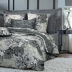Drap housse percale Black Dahlia...