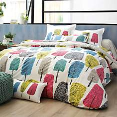 Taie percale Cèdres SCION LIVING,  Chanv...