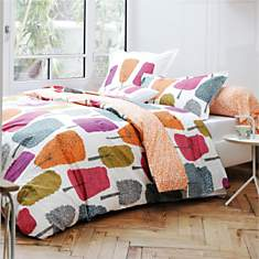 Taie percale Cèdres SCION LIVING