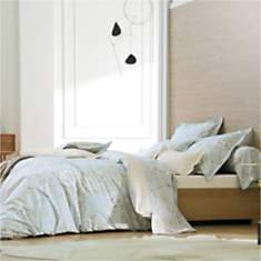 Taie percale Concerto Nuage BLANC DES  V...