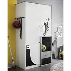 Armoire 2 portes 2 tiroirs Davenport