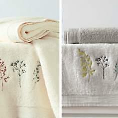 Serviettes et draps de bain matelsom - Sanderson linge de maison ...