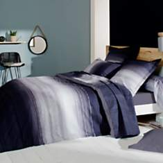 Housse de couette percale Jazz  TRADILIN...