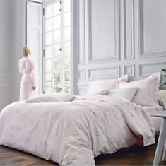 Taie percale Lily BLANC DES  VOSGES
