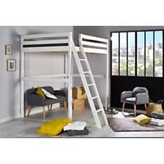 Lit mezzanine 140 x 200 cm Smarty